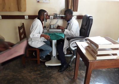Scaling up social enterprising of ophthalmic units in the Democratic Republic of Congo