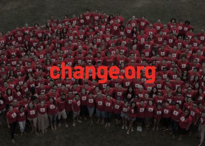 Change.org: Empowering people to create the change they want to see