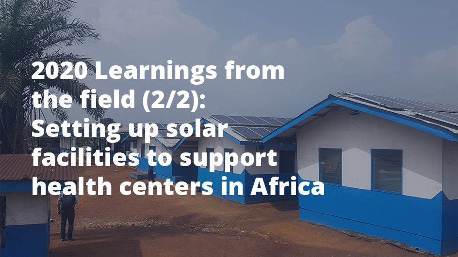 solar installations for health centers
