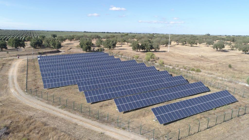 solar field in sub-saharan africa