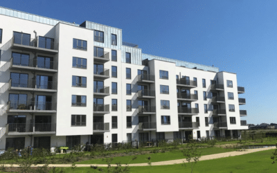 Provisional reception of the construction of affordable apartments in Anderlecht