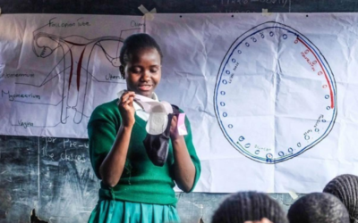 CARE selected to lead a consortium of service providers for the Menstrual Hygiene Management DIB